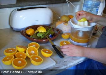 Schock durch Bio-Orangen