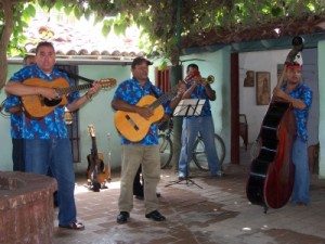 Johannes van Bajken tourte mit der Band de Jangobees