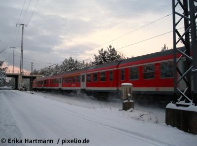 Bahn für Winter gerüstet