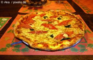 eine der betroffenen Pizzas