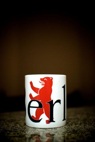 Tasse mit Berliner Bär