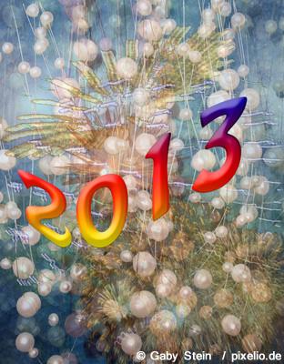 Das ändert sich zu Neujahr 2013 nicht