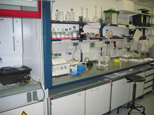 Labor in Pharmaunternehmen