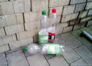 abgestellte Pfandflaschen