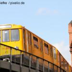 Staffel in Berliner U-Bahn