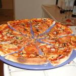Für das normale Auge nicht sichtbar: Diese Pizza enthält Zucker